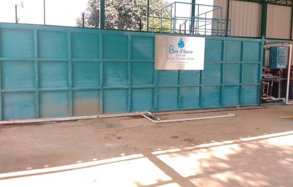 Commercial Sewage Treatment Plant
