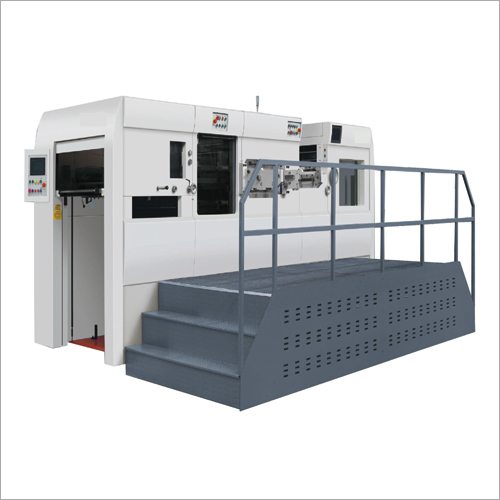 Fully Automatic Die Cutting Machine With Stripping.