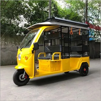 electric three wheeler with solar