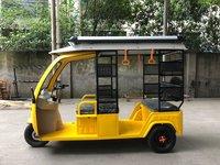 electric three wheeler with solar