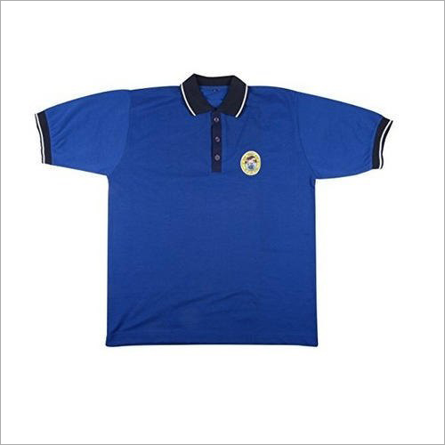 Cotton Blue School T- Shirt