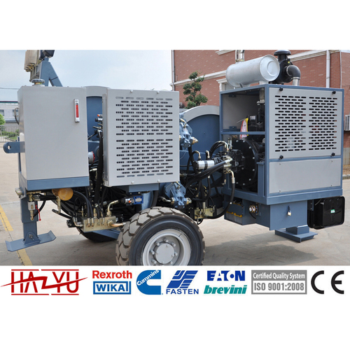 TY1X120III Max Continuous Pull 1x120kN Hydraulic Tensioner Machine For Overhead Line
