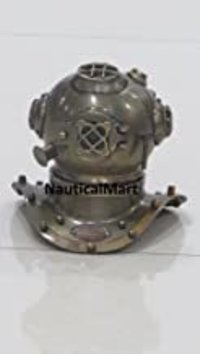 NauticalMart Antique Brass Decorative Divers Helmet