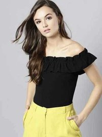 Ladies Black Color Casual Top