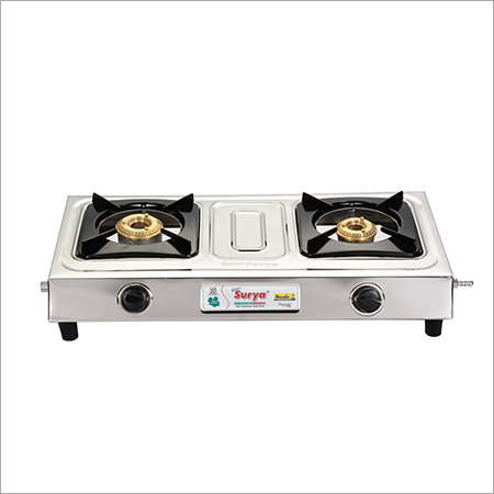 Popular Stainless Steel -Two Burner Gas Stove