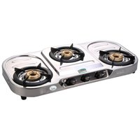 Dura Stainless Steel Three Burner Gas Stove