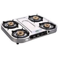 Magma Stainless Steel -Four Burner Gas Stove