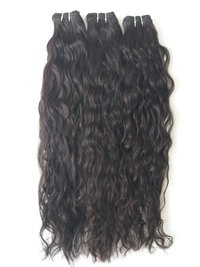 Unprocessed Temple Wavy Hair,raw Wavy Hair Extension Human Hair Virgin Hair Weft Hair