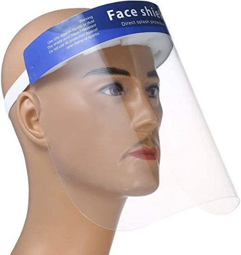 Full Face PET Transparent Anti-fog Face Shields