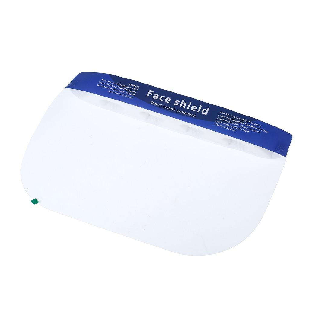 Full Face PET Transparent Anti Fog Face Shields