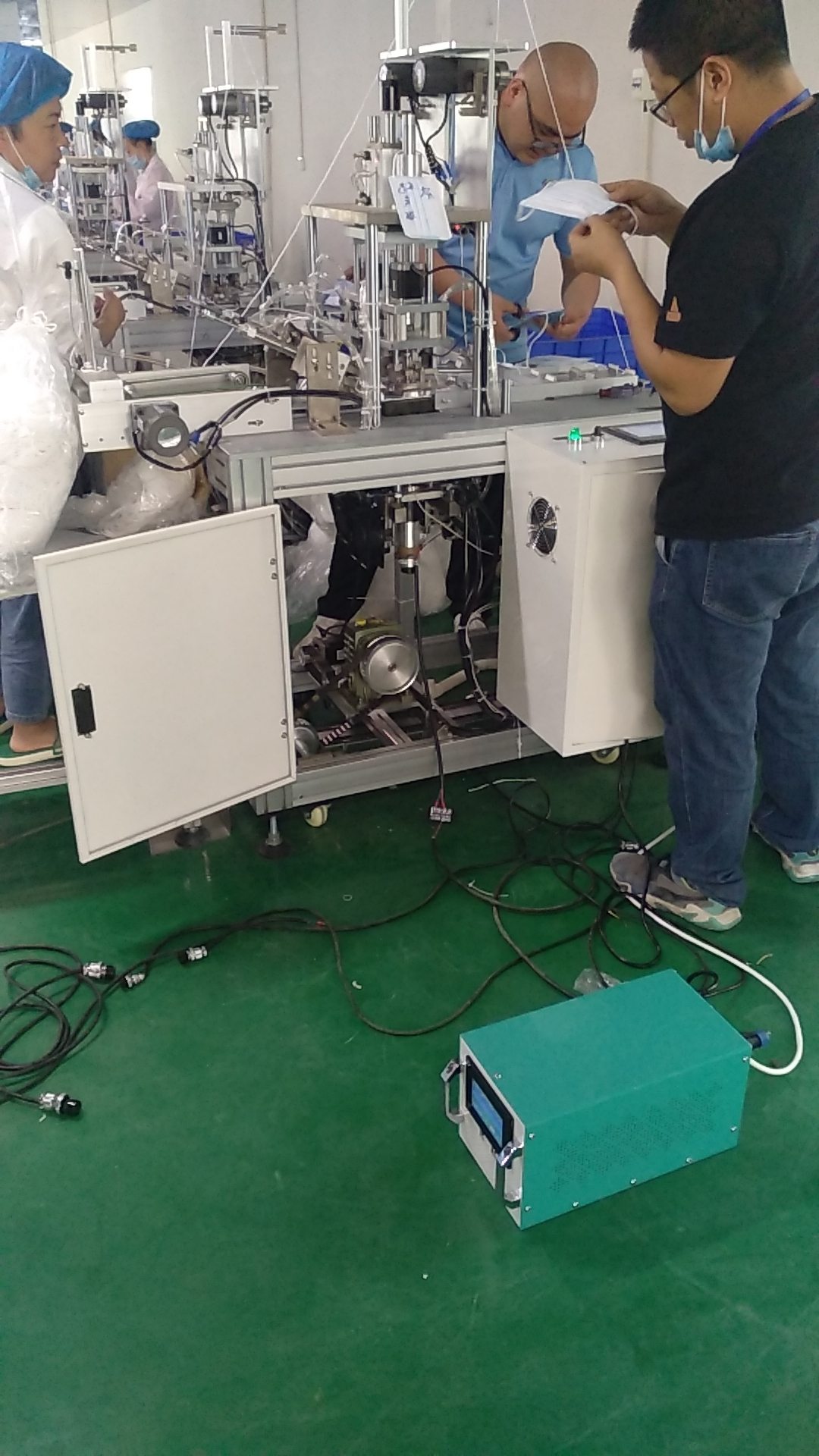 20khz 2000w Ultrasonic Welding Generator And Welding Transducer For Welding Masks
