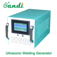 Sandi Sd-ug2500 Automatic Frequency Tracking 20k Ultrasonic Welding Generator And Transducer With Steel Horn