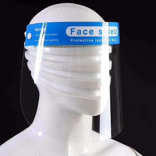 Plastic Protection Isolation Anti-Fog Full Face Shield with Sponge
