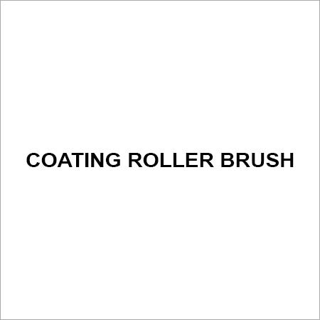 Coating roller brush