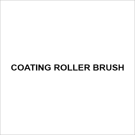 Coating roller brush