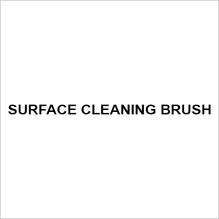 Surface cleaning brush