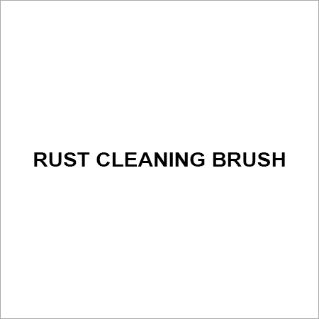 Rust cleaning brush