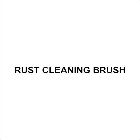 Rust cleaning brush