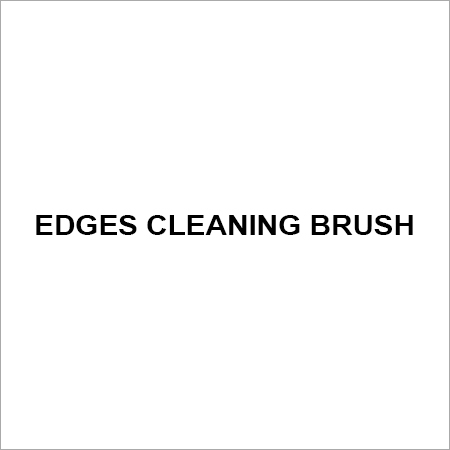 Edges cleaning brush