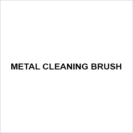 Metal cleaning brush