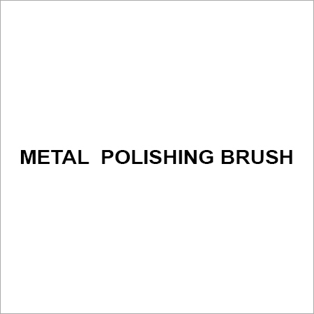 Metal  polishing brush