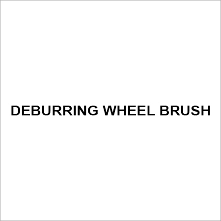 deburring wheel brush