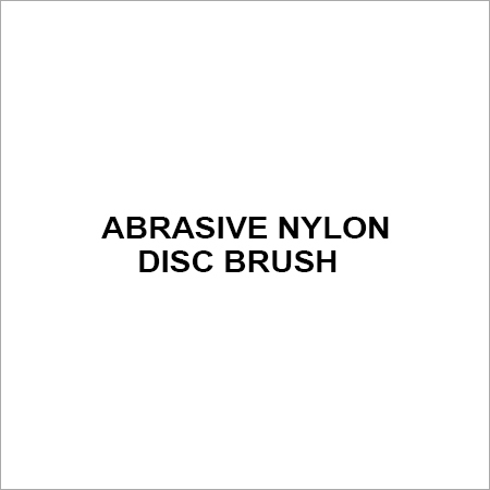 Abrasive Nylon Disc Brush