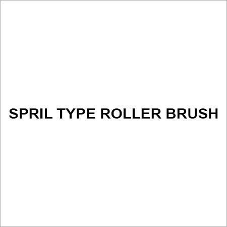 Spril type roller brush