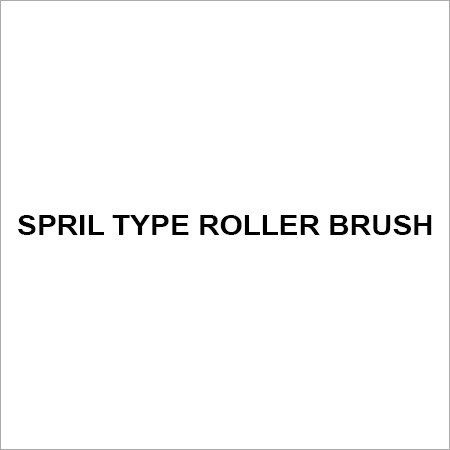 Spril type roller brush