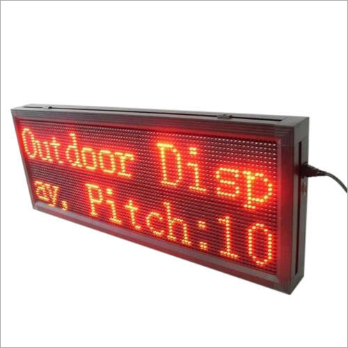 Single Color LED Moving Display Board
