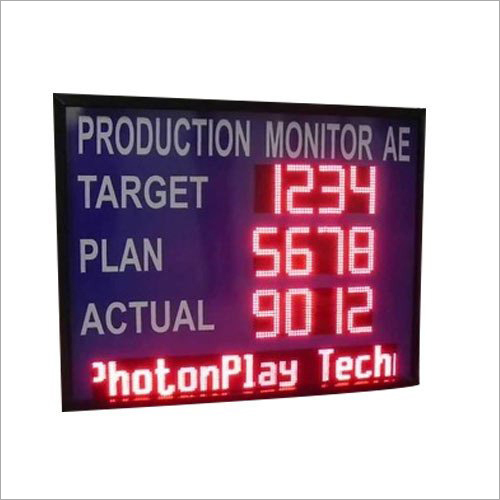 Digital LED Production Display Board