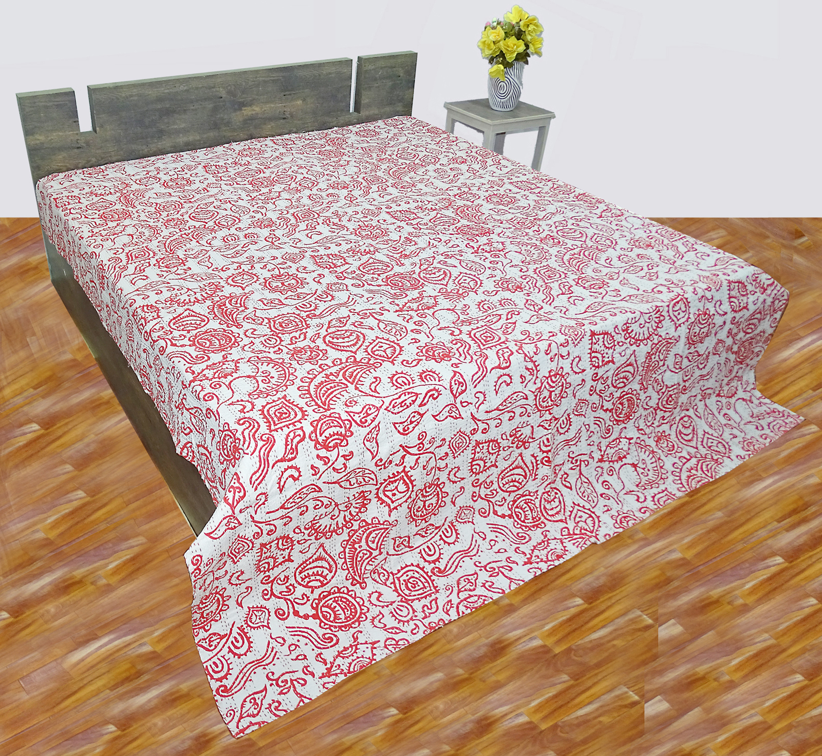 Wholesale Lot Of Cotton Kantha Quilts