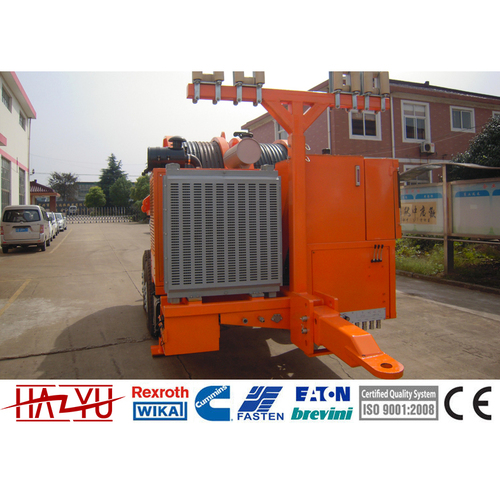 TY4x50 Max Tension 4x50(2x100)KN Hydraulic Tensioner For Power Transmission Line Machine