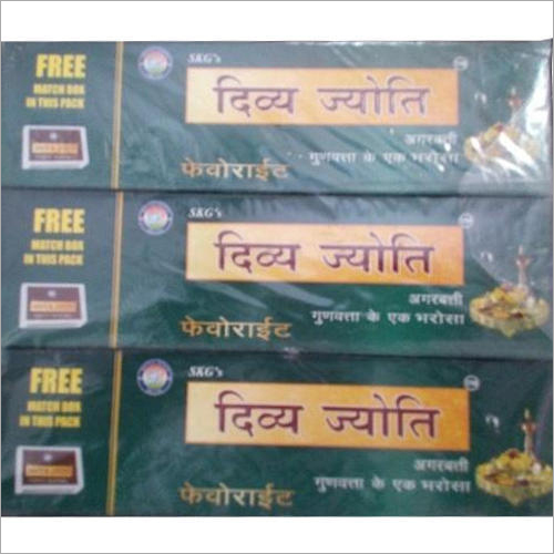Divyajyoti Favourite Incense Sticks