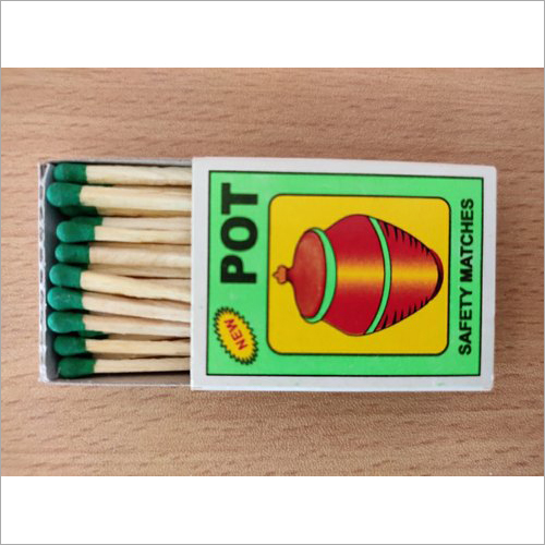 POT Safety Matches Box