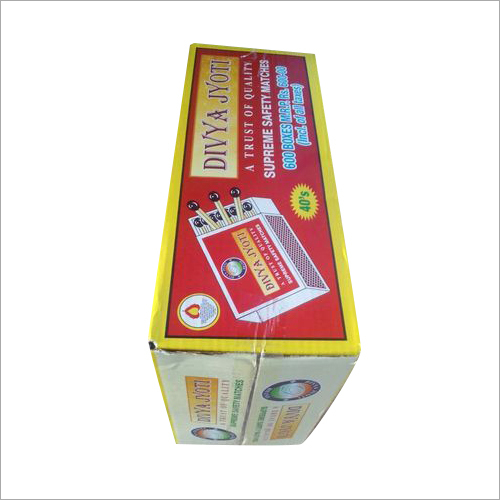 Divya Jyoti Supreme Safety Matches Box