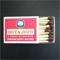 Divya Jyoti Supreme Safety Matches Box