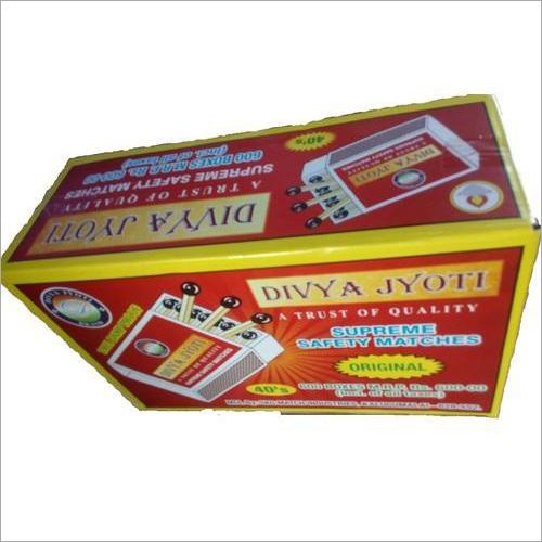 Supreme Safety Matches Box
