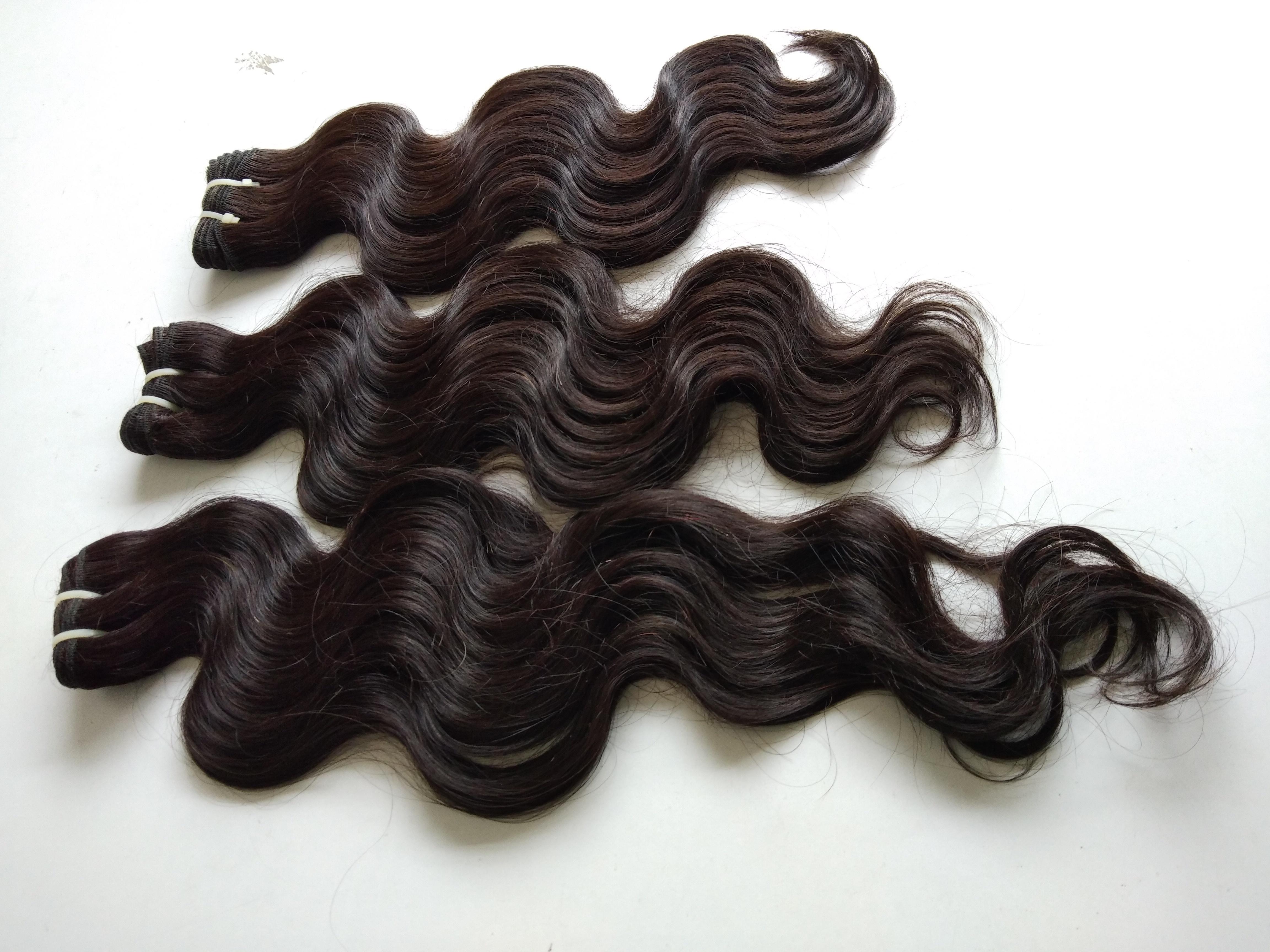 Body wave human hair,