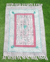 Cotton Embroidery Rug