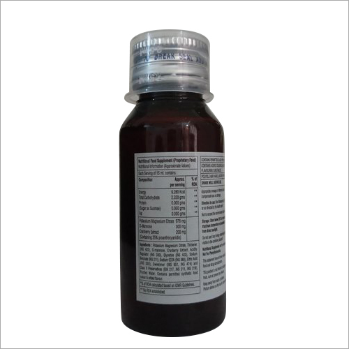 Potassium Magnesium Citrate D Mannose and Cranberry Syrup