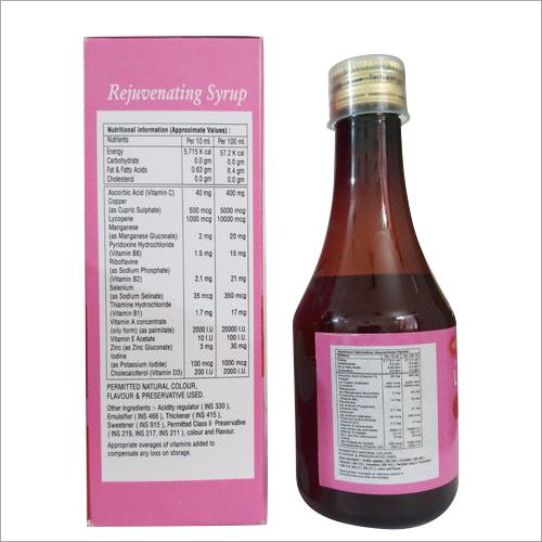 Rejuvenating Syrup
