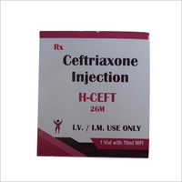Ceftriaxone 2GM Injection