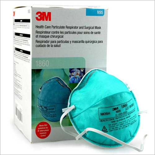 3M 1860 N95 Particulate Respirator Face Mask