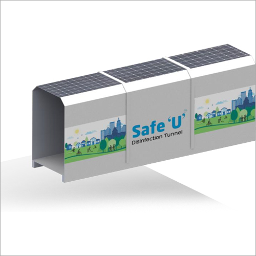 Safe U Disinfection Sanitization Tunnel