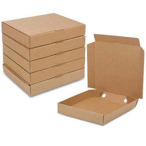 Plain Pizza Boxes