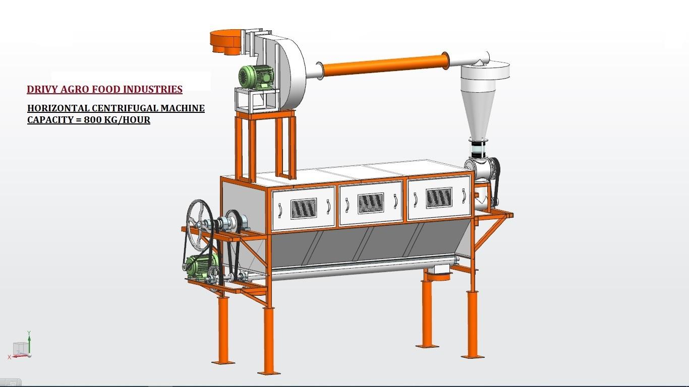 Centrifugal Atta Separator Machine