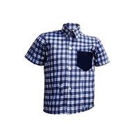 School Shirts  (Check  half-sleeve)