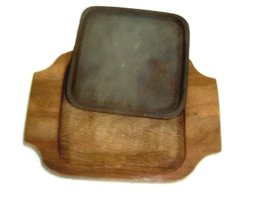 Sizzler Plate Square 5 x 5