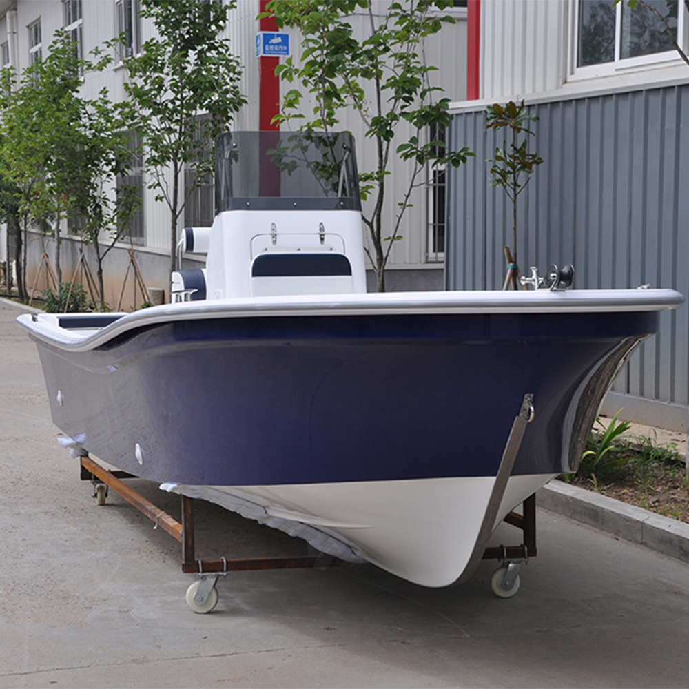 Liya 5.8m Fiberglass Boat with center console for sale